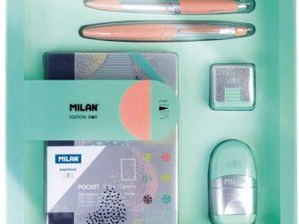 Kit caixa regal multicolor Milan Silver 08736