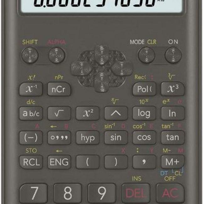 Calculadora científica Casio FX-82MS II