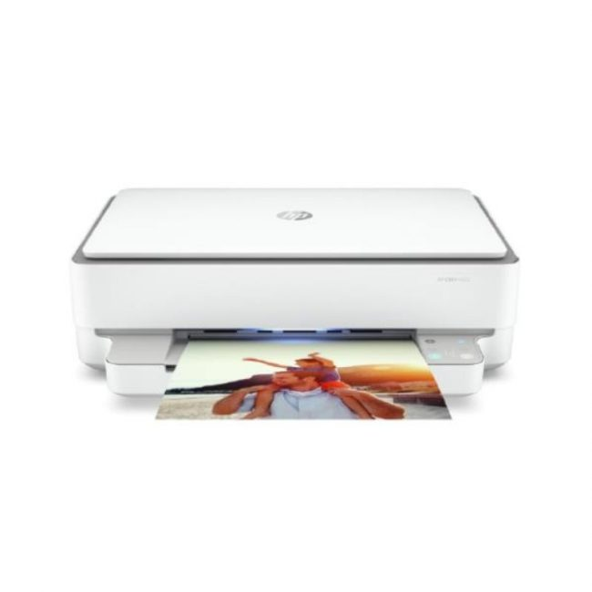 Multifuncional tinta color HP Envy 6020 AIO blanc