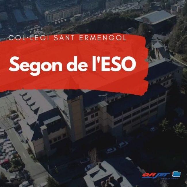 COL·LEGI SANT ERMENGOL - 2 ESO