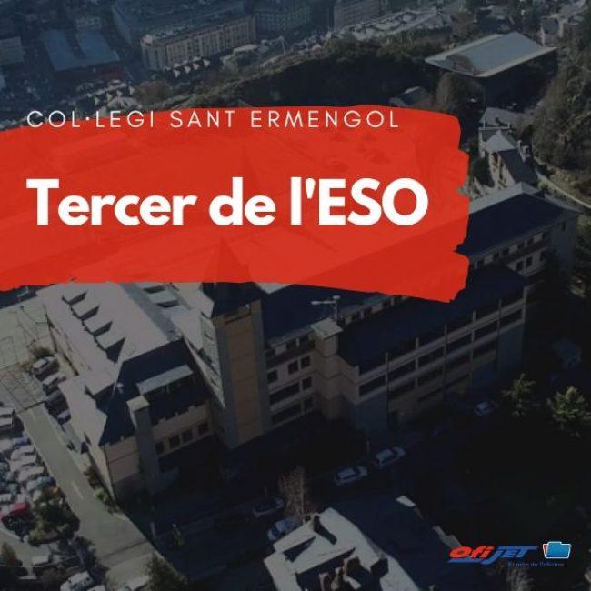 COL·LEGI SANT ERMENGOL - 3 ESO