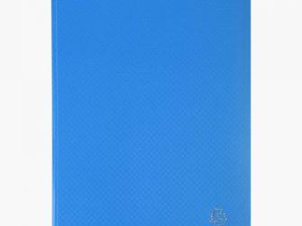 Carpeta 80 fundes fixes A4 blau Exacompta
