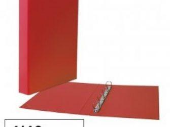 Arxivador foli 4x40 sense rado vermell Plus 180789