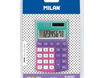 Calculadora 8 digits Milan Sunset lila - rosa 151008SNPRBL