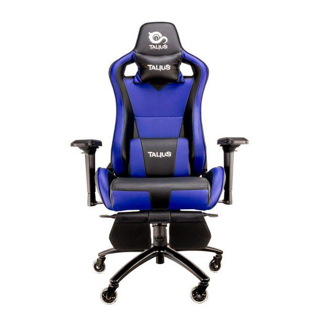Cadira rodes Gaming blau / negre Talius Caiman