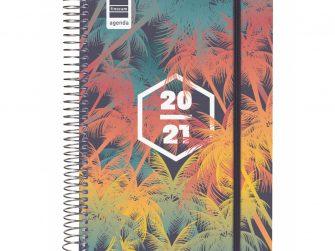 Agenda escolar espiral d/v 155x212 Finocam Palms