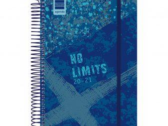 Agenda escolar espiral d/v 155x212 Finocam Limits