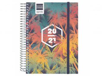 Agenda escolar espiral d/v 120x164 Finocam Palms