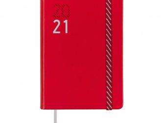 Agenda escolar s/v 118x168 Finocam Croma vermella