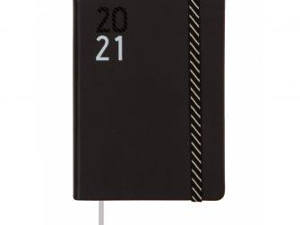 Agenda escolar s/v 118x168 Finocam Croma negra