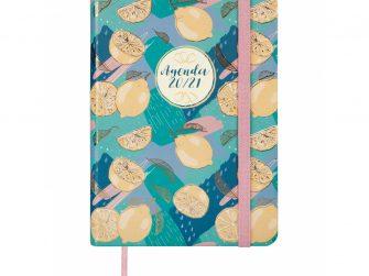Agenda escolar d/v 118x168 Finocam Natural Lemon