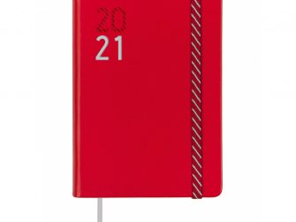 Agenda escolar d/v 118x168 Finocam Croma vermella