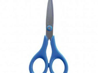 Tisora 14cm escolar Plus Smart blau