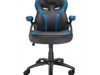 Cadira rodes Gaming blau / negre Talius Cobra