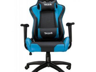 Cadira rodes Gaming blau / negre Talius Gecko