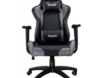 Cadira rodes Gaming gris / negre Talius Gecko