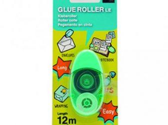 Cola cinta permanent 6mmx12m Plus Roller LE verd