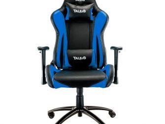 Cadira rodes Gaming blau / negre Talius Lizard
