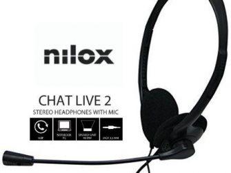 Auriculars amb micro Nilox NXCM0000004