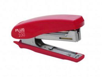 Grapadora 12 fulls Plus 100 vermella