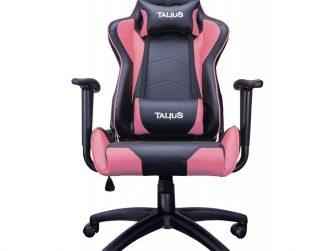Cadira rodes Gaming rosa / negre Talius Gecko