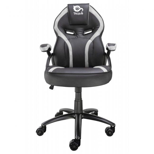 Cadira rodes Gaming blanca / negre Talius Cobra