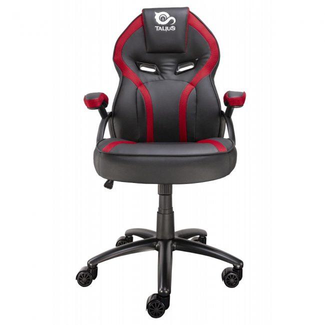 Cadira rodes Gaming vermella / negre Talius Cobra