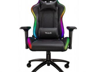 Cadira rodes Gaming negra amb Leds Talius Camaleon