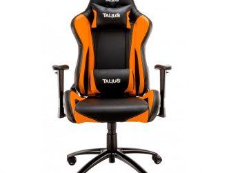 Cadira rodes Gaming taronja / negre Talius Lizard