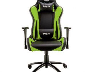 Cadira rodes Gaming verda / negre Talius Lizard