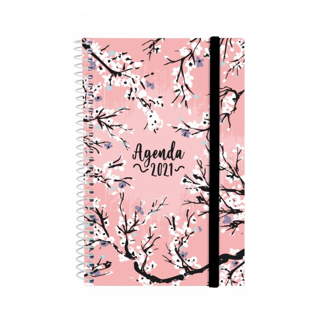 Agenda s/v 117x187 espiral Finocam Design Zebra