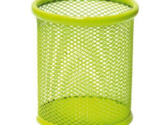 Portallapis metàl·lic perforat verd Plus 190