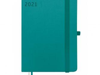 Agenda s/v 82x127 Finocam Textura turquesa