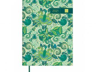 Agenda s/v 140x204 Enquadernada Finocam Porto Design verd