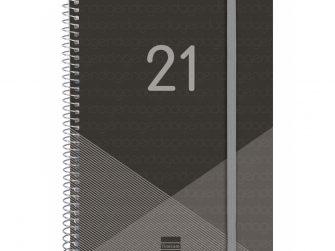 Agenda s/v A4 espiral Finocam Year negre
