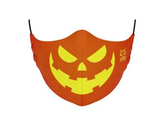 Mascareta talla S/M Halloween orange & yellow Otso
