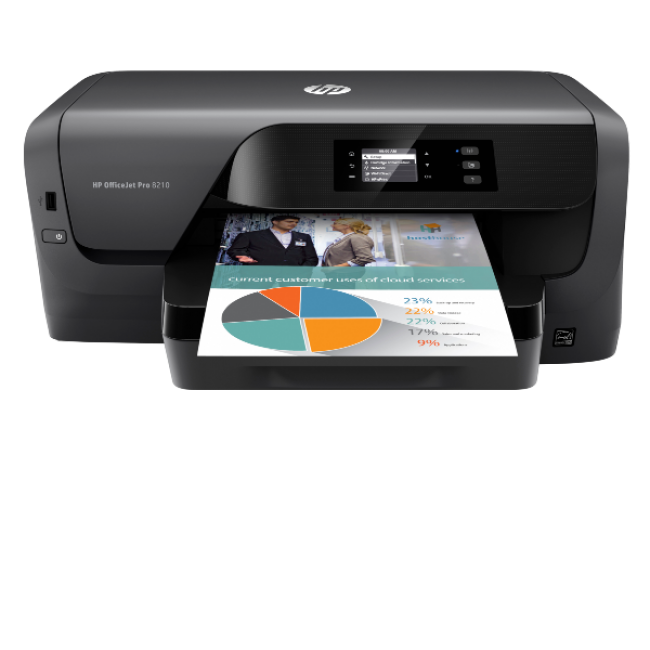 Impressora tinta color HP OfficeJet Pro 8210