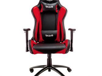 Cadira rodes Gaming vermell / negre Talius Lizard
