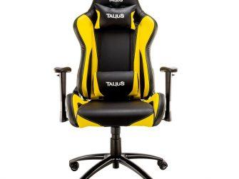 Cadira rodes Gaming groc / negre Talius Lizard