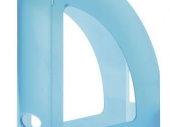Revister de plàstic blau lagoon translúcid Archivo 2000