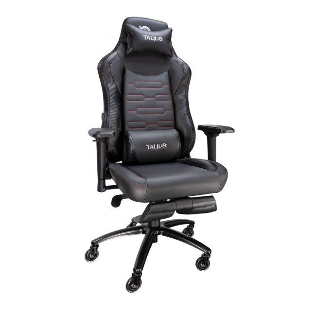 Cadira rodes Gaming negre Talius Konda