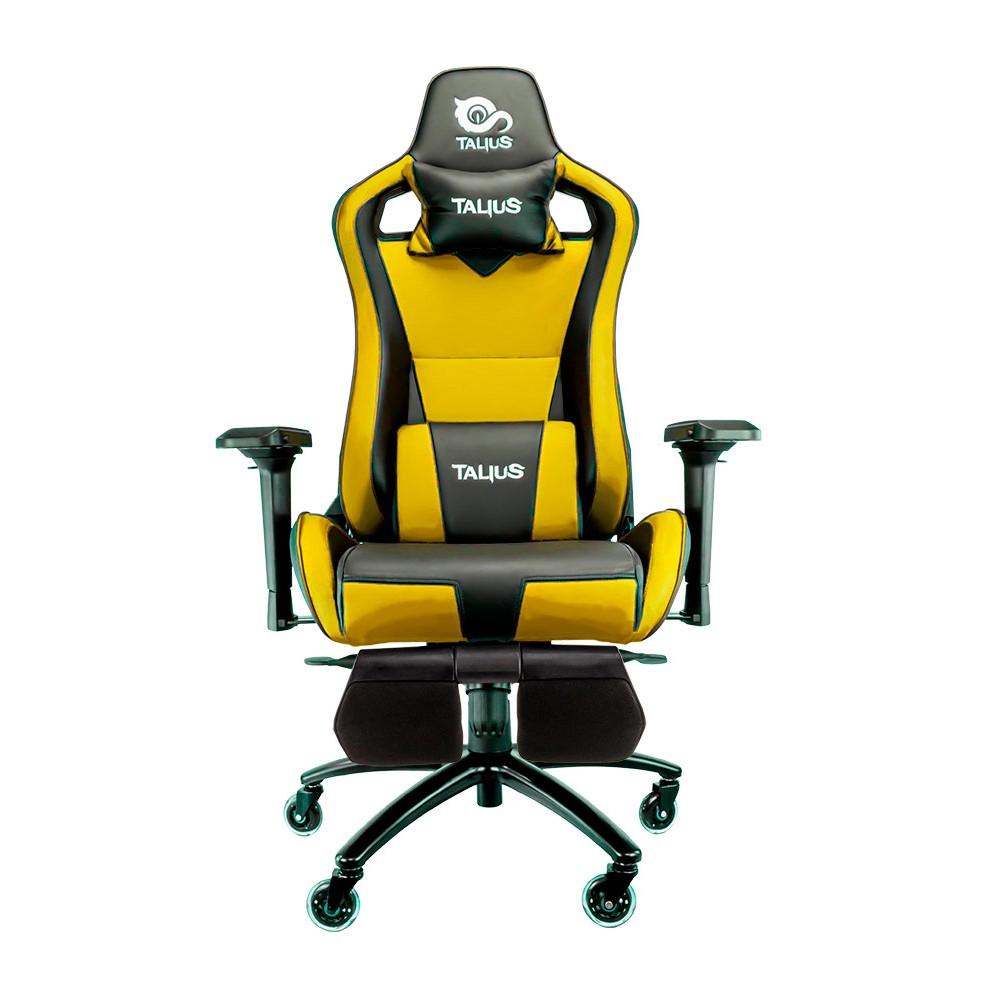 Cadira rodes Gaming groc / negre Talius Caiman