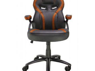 Cadira rodes Gaming taronja / negre Talius Cobra