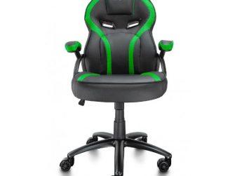 Cadira rodes Gaming verd / negre Talius Cobra