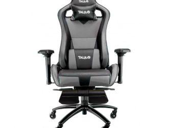 Cadira rodes Gaming gris / negre Talius Caiman