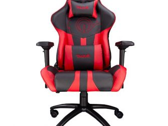 Cadira rodes Gaming vermell / negre Talius Viper